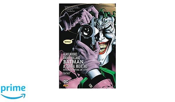 Batman A Piada Mortal Volume 1 Em Portuguese Do Brasil Alan