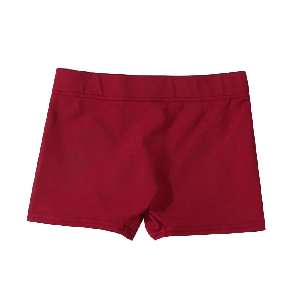 Verypoppa Women Gym Workout Fitness Yoga Shorts Stretchy Skinny Elastic Waist Shorts