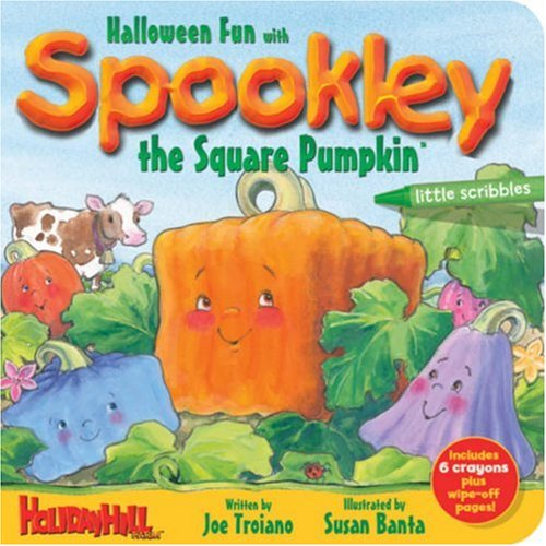 Little Scribbles: Halloween Fun with Spookley the Square (Fun Halloween Pumpkin Ideas)