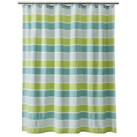 Thresholdac Seersucker Shower Curtain
