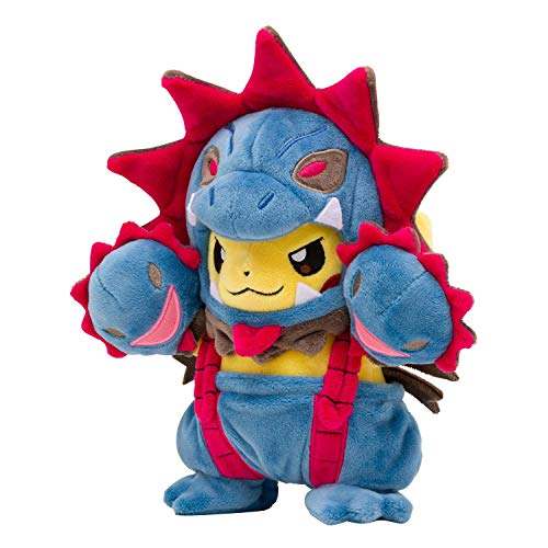 Pokémon POKÉ Plush Pikachu Wearing HYDREIGON POKÉ MANIAC Costume