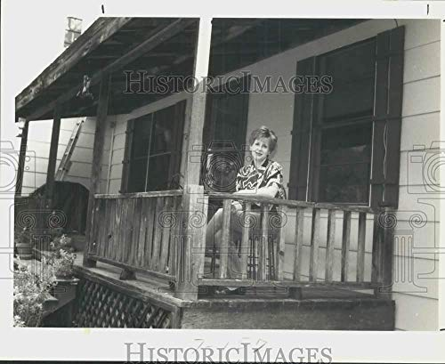 1992 Press Photo Veteran Stephanie Woods purchases home with state loan, Texas