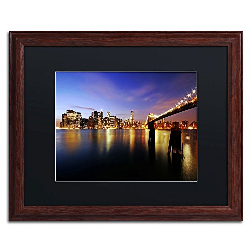 (That's The Way it is Wood Framed Artwork by Cateyes, 16 by 20-Inch, Black Matte)