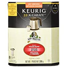 Van Houtte Original House Blend K-Carafe Pod, 8 Count