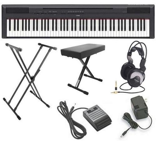 Yamaha Ultra Premium Keyboard Package Headphones