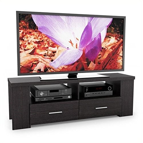 Sonax B-101-RBT Bromley 60-Inch TV/Component Bench in Ravenw