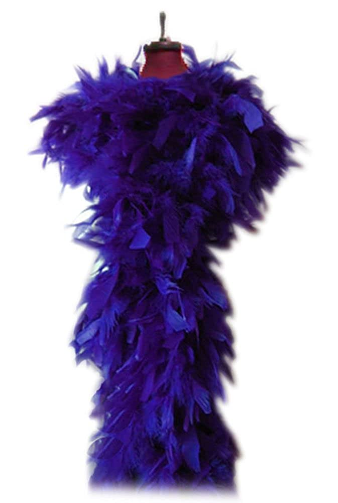 SACAS 100g Royal Purple Chandelle Boa for halloween party, costume