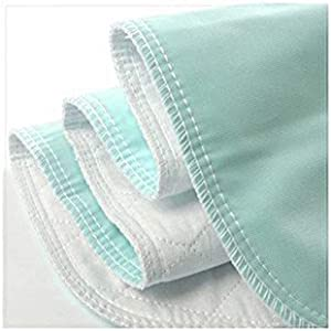 """Platinum Care Pads Reusable Bed Underpad Machine Washable & Dryable, Waterproof, Extra-Absorbent, Personal Care & Hospital Rated Under Pad (Green, 54""""x34"""")"""
