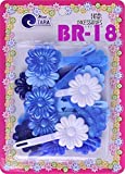 Best Barrettes For Toddlers - Tara Girls Self Hinge Plastic Flower Hair Barrettes Review