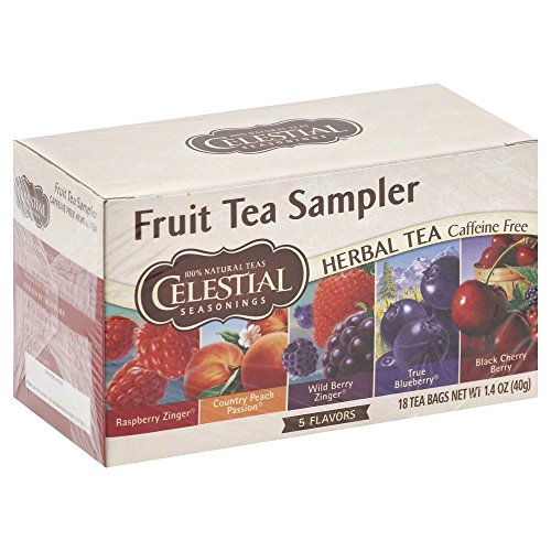(Celestial Seasonings Fruit Tea Sampler Tea Bags, 18 ct, 2 pk )