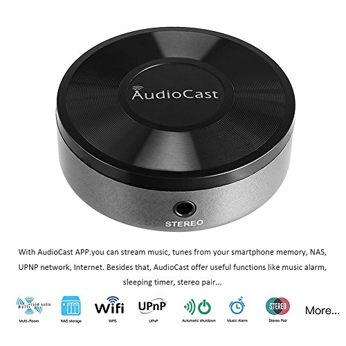 Airplay Receiver Wifi Audio Receiver Wireless Multi room Music