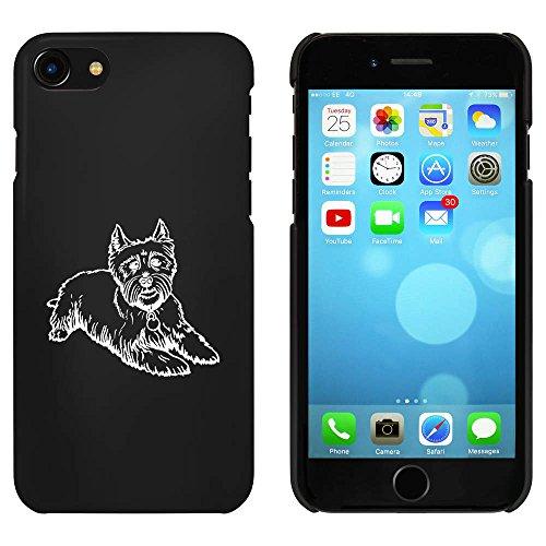 Noir 'Chien Westie' étui / housse pour iPhone 7 (MC00081903)