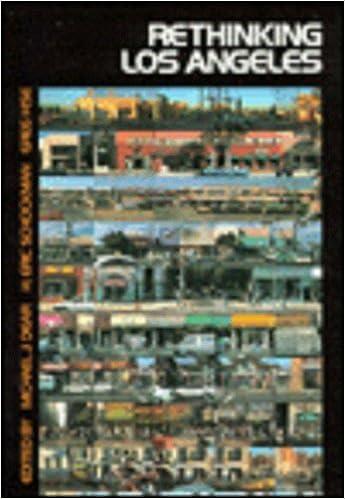 Rethinking Los Angeles (Metropolis and Region, V. 2) (1996-08-20)