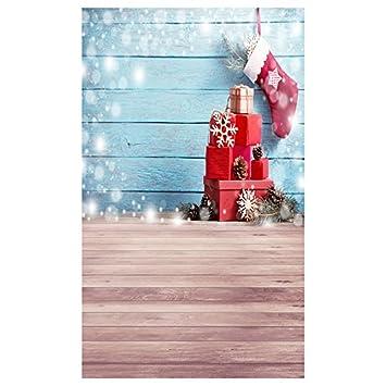 TOOGOO(R) 5X7 pies Pano de imagen de tema de Navidad de vinilo accesorio