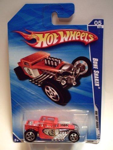 Hot Wheels 2010 HW Hot Rods 143/240 Bone Shaker- Orange 05/10