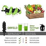 Juicer Machines, Orfeld Slow Masticating Juicer, 7