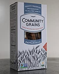 Community Grains Organic Whole Grain Pappardelle 10oz - 100% traceable from seed to table!
