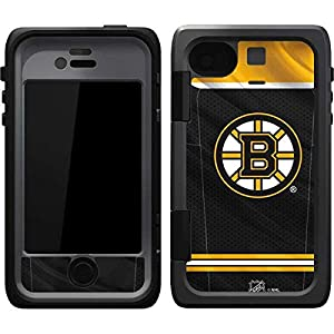 NHL Boston Bruins OtterBox Armor iPhone 4&4s Skin - Boston Bruins Home Jersey
