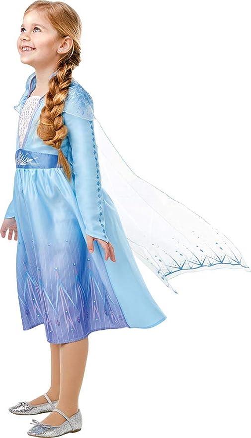 Frozen 2 Elsa-Kostüm Disney-Verkleidung für Damen blau-lila Cod.325939