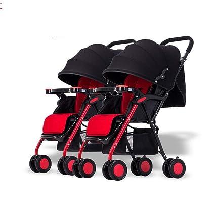 Cochecitos para bebés Gemelos, combinación Desmontable ...