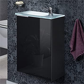Fackelmann Gäste WC Set KARA / Armatur, Waschbecken Mit Unterschrank /  Badmöbel Für Gästebad /