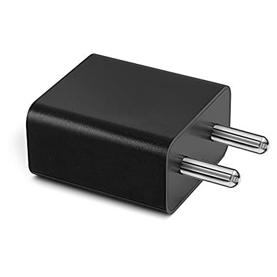 ShopMagics 2 A Plastic Mobile Charger for Redmi Note 3  Black  Wall Chargers