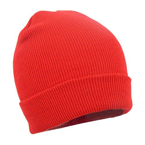 Red Winter Beanie - 3