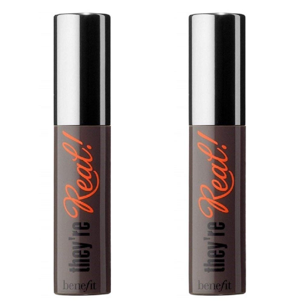 9cc7e7cea2c Amazon.com : Benefit They're Real Mascara Mini Duo 0.10 oz/Each : Beauty