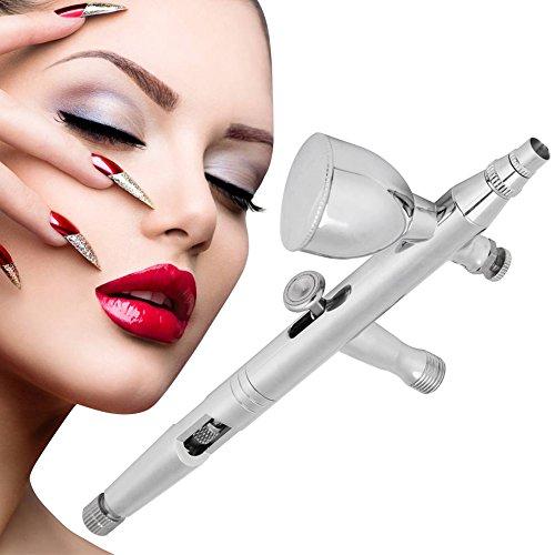 Moisturizing Oxygen (Oxygen Infusion Spray Gun, Facial Airbrush Gun Kit for Nail painting Inkjet Tattoo Skin Moisturizing Clean Pores)