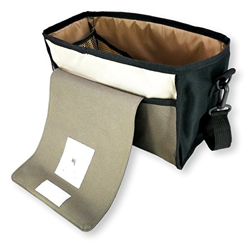 My FL Universal Baby Stroller Organizer Bottle Cloth Diapers Holder Hanging Storage Bag (Black Triangle) by my FL (Image #4)