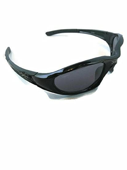 f4573bc6fc Amazon.com  Xsportz Men s Sport Sunglasses Wrap Around Frames Multi Colored  Frames And Lens (Black