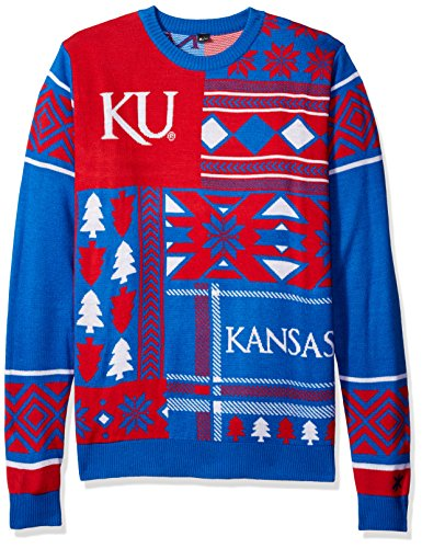 Kansas Jayhawks Ugly Sweater, Kansas Christmas Sweater, Ugly ...