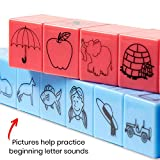 hand2mind Reading Rods, Word Builders, Alphabet and Phonemic Awareness Linking Cubes for Early Reading & Word Work