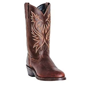 """Laredo Men's 12"""""""" Trucker Boot,Copper Kettle,8.5 EW US"""
