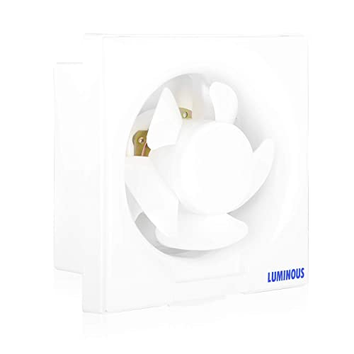 (Renewed) Luminous Vento Deluxe Fresh Air 150mm 30-Watt Ventilator Fan, White