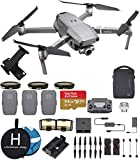 DJI Mavic 2 Zoom Fly More Combo Deluxe Bundle (3 Batteries, ND Filters Set, Charging Hub, Landing Pad, Extreme microSDXC Card and More)