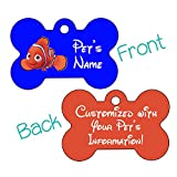 Finding Nemo Double Sided Pet Id Tag for Dogs