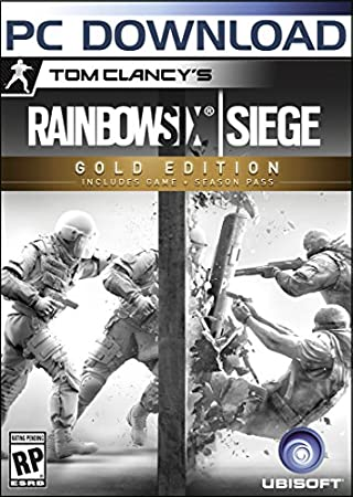 Tom Clancy's Rainbow Six Siege - Gold Edition - PC [Download Code]