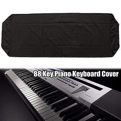 Funda de Piano, Essort Cubierta de Piano Tapa de Teclado de Piano, 88 Teclas