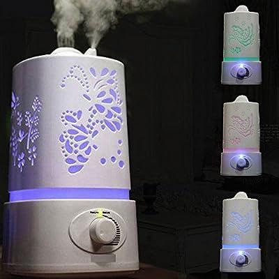 Signstek 1.5L Ultrasonic Home Aroma Humidifier Air Diffuser Purifier Lonizer
