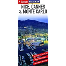 Nice, Cannes, Monaco Insight Flexi Map