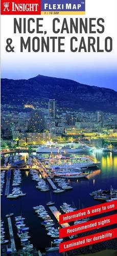 Insight Flexi Map: Nice, Cannes & Monte Carlo (Insight Flexi Maps)