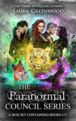 The Paranormal Council Complete Series Laura Greenwood