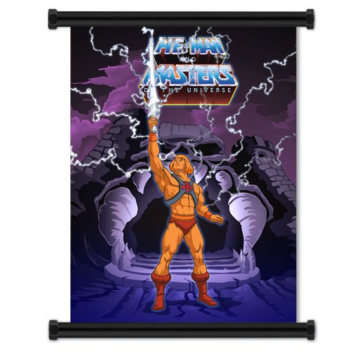 He-Man and the Masters of the Universe: Cartoon Fabric Wall