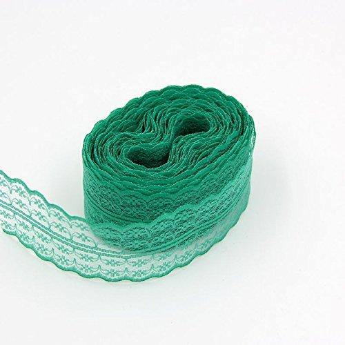 ivory alencon lace mini dress - 9
