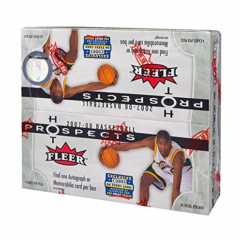 08 Basketball Rookie Pack (2007-08 Fleer Hot Prospects Basketball 24ct Retail Box)