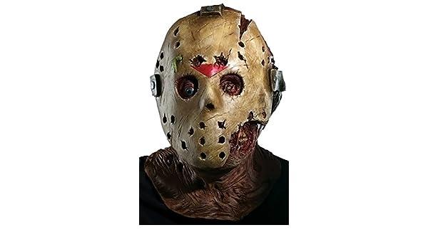Máscara de Jason la película Viernes 13 para adulto: Amazon.es: Ropa y accesorios