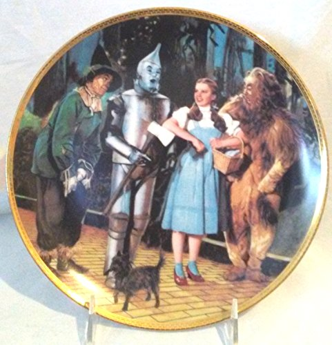 We're Off to See the Wizard Hamilton Collection Plate ()