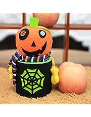 Halloween Candy Bag Pumpkin Ghost Zombie Bat Doll Candy Storage Pack Sweet shape B