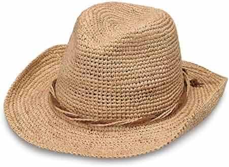a46c0643bf746f Wallaroo Hat Company Women's Hailey Cowboy Hat – Raffia, Modern Cowboy,  Designed in Australia